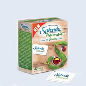 splenda stevia 40 sticks